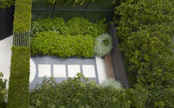 Beautiful landscape design by