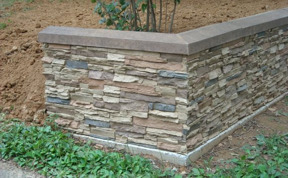 Decorative Stone Wall Capitals