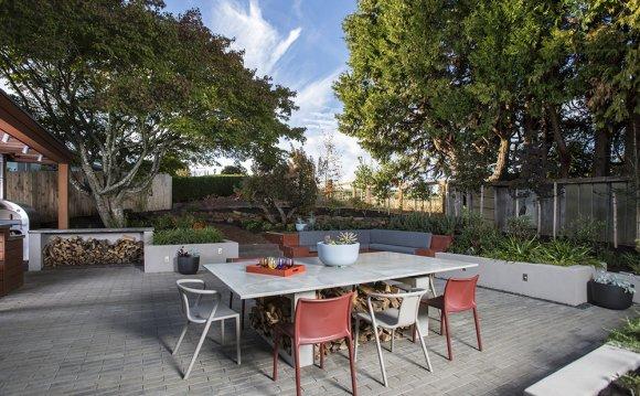 Patio landscaping design