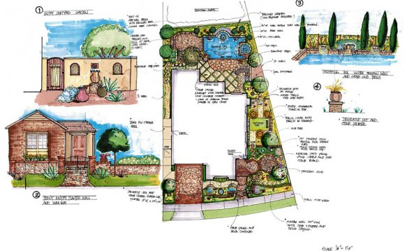 Sample Landscape Design