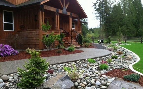 River Rock Landscaping Design
