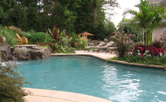 Swimming Pool Landscaping Design Landscape Design