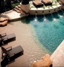 backyard swimming pool lagoon