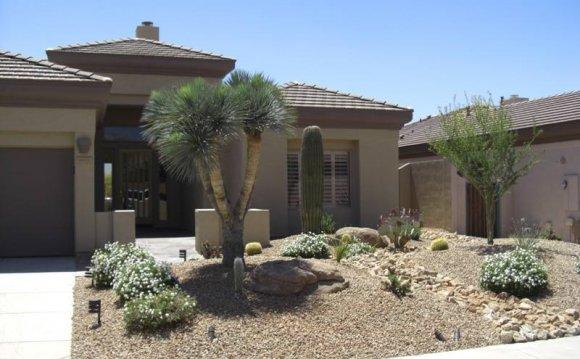 Front Yard Desert Landscaping Design Landscape Design