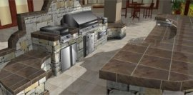 Detail your outdoor living spaces