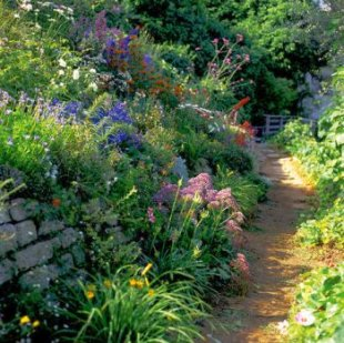 English garden landscape design