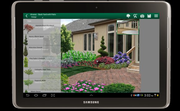 App for Landscape Design