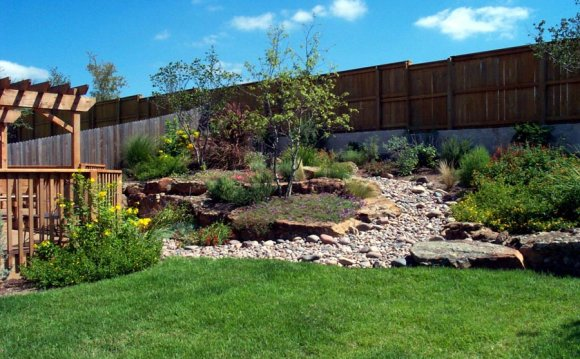 Landscape Design for sloped Backyard