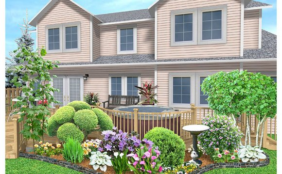 Landscape Design for large Backyard