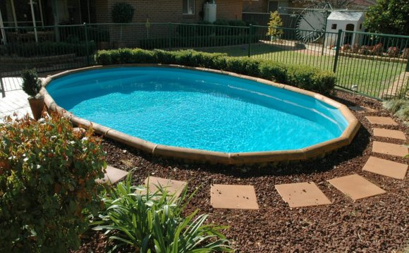 Above ground pool Design Landscaping : Landscape design