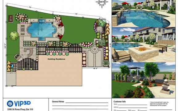 Pool and Landscape design software