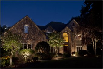 shadowing landscape lighting