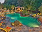 Backyard Pools Designs Landscaping Pools
