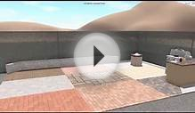 3D Landscape Design - Paver Display