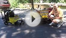 Asphalt curb repair and installation. St. Louis MO