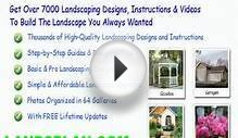 colonial house landscape design ideas