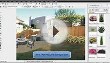 Create outdoor living areas with design software