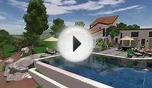 Custom Home and Pool by LandPro Landscape Services