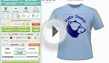 Custom TShirt Design Software and Application Tool