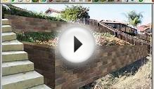 Designing Retaining Walls 2 in GreenScapes Landscape