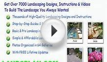 free backyard landscape design plans