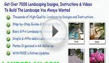 free landscape design plans florida