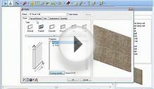 HGTV Home Design Software - Creating and Modifying Walls
