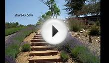 Idea For Long Hillside Stairways - Landscaping And Design