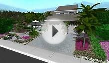 JIM DEANS LANDSCAPE Curb Appeal design ideas in 3D