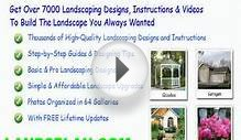 landscape design drawing materials