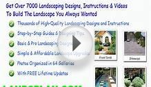 landscape design for front walkway