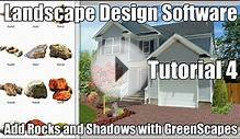 Landscape Design using Rocks and Shadows with GreenScapes.