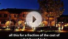 Landscape lighting effects in Orange County