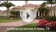 Landscaping Services Dallas TX, Coral Spring Landscape