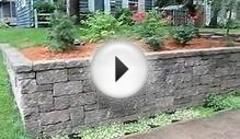 Minneapolis Retaining Wall Landscape Design (and