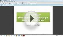 Sustainable Landscape Design Working with Builders Asia
