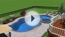 Swimming Pool with Landscape Design