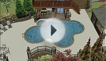 Triad Landscape Design Group: Swimming Pool 3D Animation.wmv