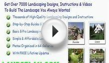 tropical landscape design pictures