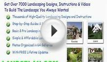 tropical landscaping design plans