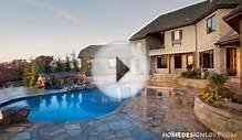 Unexpected Spa and Pool Combo by Caviness Landscape Design
