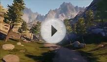 Unreal Engine 4 mountain environment - Foliage/Landscape