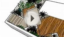 Urban Garden Design for Small Courtyard - by NSL design