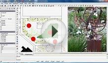 Use layout pages in landscape design plans