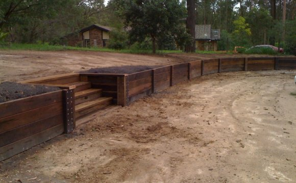 Landscape retaining walls Design